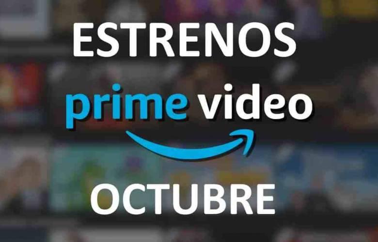 Estrenos que llegan a octubre en Amazon Prime