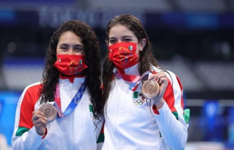 Alejandra Orozco y Gabriela Agúndez ganan bronce para México
