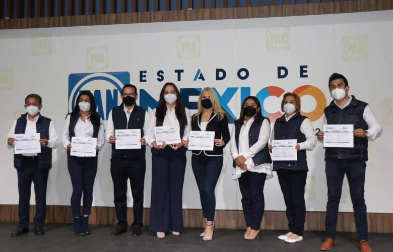 Se registra Romina Contreras candidata del PAN a la alcaldía  de Huixquilucan; Pedro Rodríguez, por Atizapán de Zaragoza
