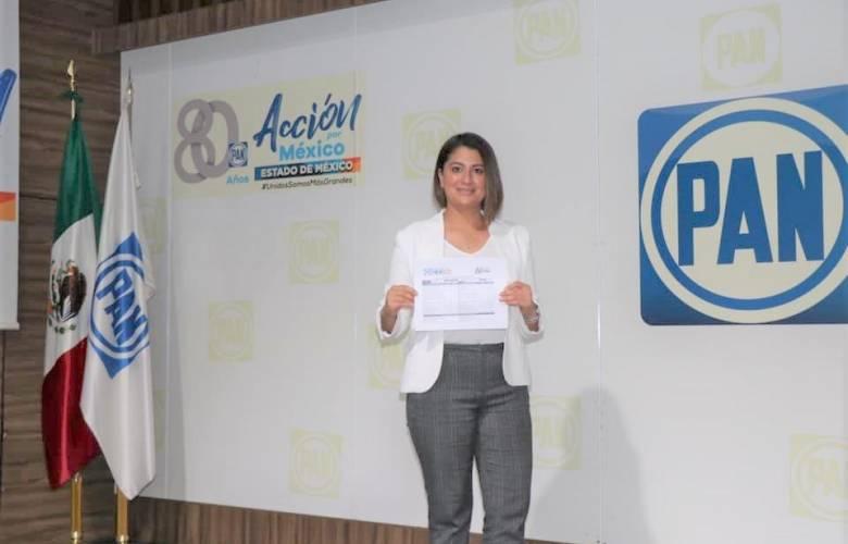Registra el PAN a mujeres con preparación y talento a alcaldesas en Melchor Ocampo y Jaltenco