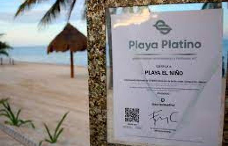 Cancún logra certificación platino en 7 de sus playas.