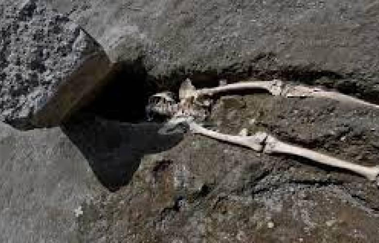 Hallazgo de un esqueleto puede aportar nuevos detalles sobre la erupción del Vesubio