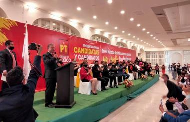 PT presentó candidatos a diputados federales