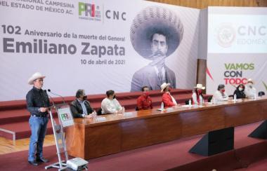 PRI se pronuncia por un congreso nacional defensor de los campesinos